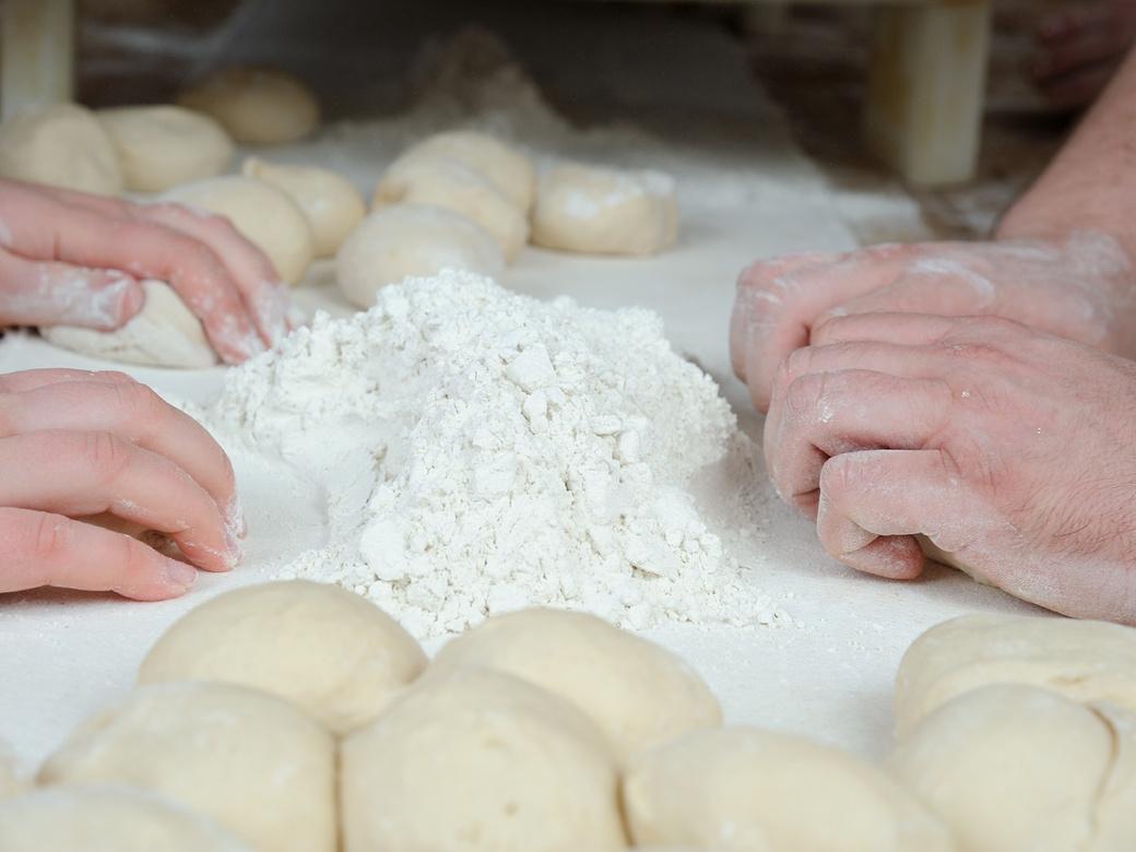 Bei uns in der Bäckerei muss es weitergehen...