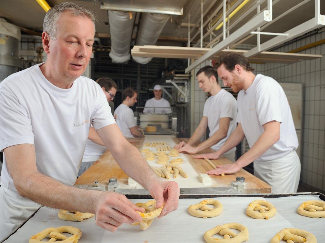 In der Bäckerei Schmidl wird weiterhin täglich für Sie alle gebacken